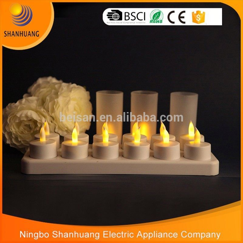 BST045-<strong>R12</strong> Newest design hot sale standard size battery operated church candles