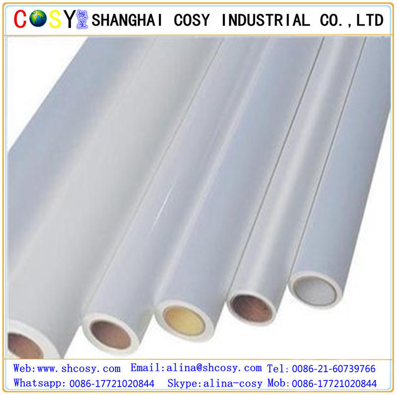 Cold Lamination PVC Film Roll/PVC Self Adhesive Transparent Film