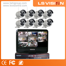 LS VISION 8ch Security Wireless Camera System Video Surveillance Equipment