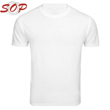 China Wholesale Bulk Buy Clothing White Cotton Blank T Shirt For Men