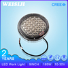 Hot selling wholesale 185w led driving light work light 9inch led round red lamp