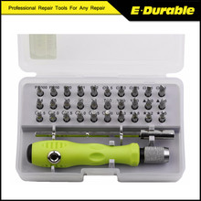 Universal 32 In 1 Precision Screwdriver Set Dismountable Electronic Repair Tools Kit for Cell Phone Laptop Tablet PC