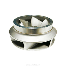 High quality custom OEM manufacturer stainless steel precision casting with lost waxing process for water pump impeller parts