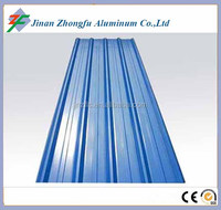 color coated corrugated aluminum roofing sheet cheap aluminum metal roofing sheet