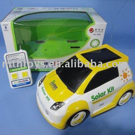 solar rc car toy with USB line