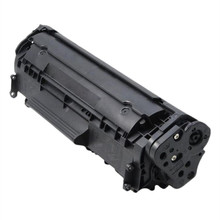 Replacement high yield page toner cartridge for Q2612A 12A compatible toners