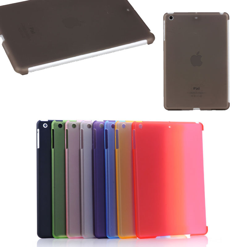 Matte Rubber PC hard case for iPad mini 1 2 3