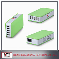 Mobile phone accessories 5 port usb travel charger,wall charger for iphone 6