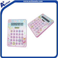 12 digit solar calculator for promotion