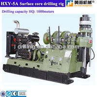 core drilling machine for mineral exploration HXY-5A