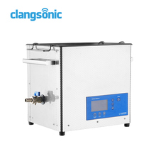 Clangsonic Digital heated ultrasonic lens cleaning cleaner /machine wash glasses household ultrasonic cleaner