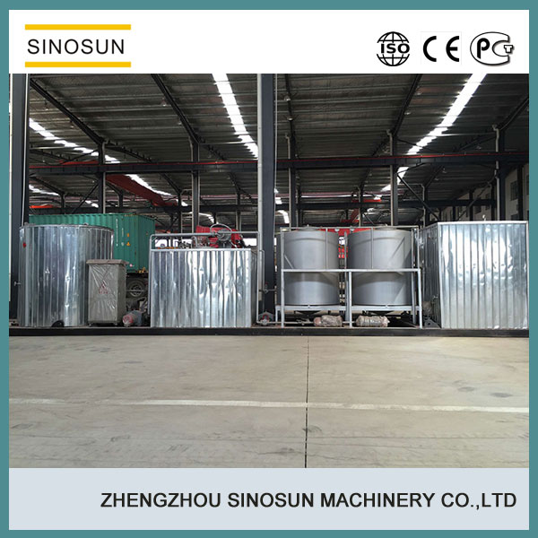 SINOSUN hot sale 8-10TPH asphalt emulsion plant price