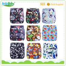 2016 AnAnBaby Jc trade one size pul washable baby pocket best modern cloth diapers nappies wholesale