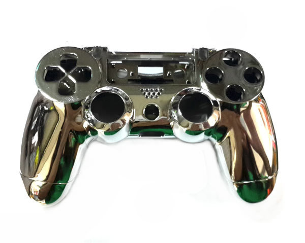 Housing Shell Case for PS4 Controller Chrome Color