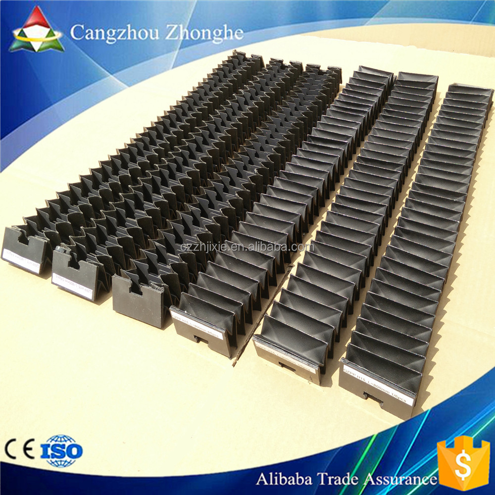 Factory Manufacturing Accordion Bellows Cover With Customized Connector