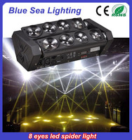 2015 guangzhou factory 8x10w led spider beam moving head light