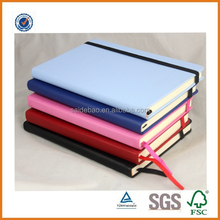 best selling school notebook with elastic band,a5 notebook,pu leather classmate notebook