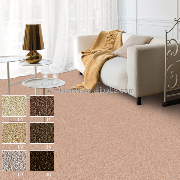 Chunguang 02, plain cut pile wool hotel, wool bedroom carpet