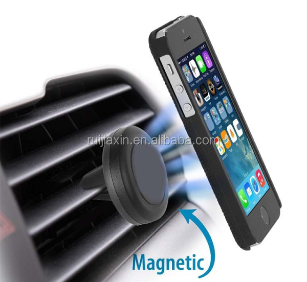 Universal Air Vent Magnetic Car Mount Holder,Silicone Car Air Vent Mount mobile phone Holder