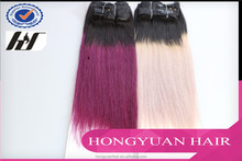Hot selling Hair for sale hongyuan hair ombre micro loop ring hair extension