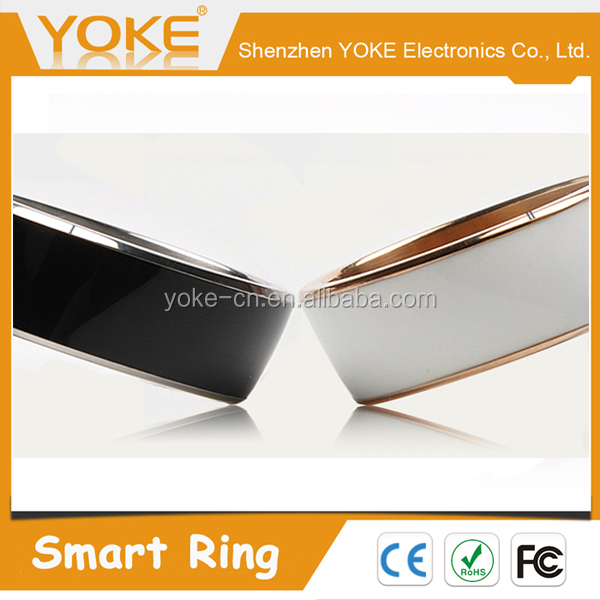 2016 R3F Universal NFC Magic Smart Ring for Android and WP mobile phones with Volcanic Magnet and FIR Energy Stone