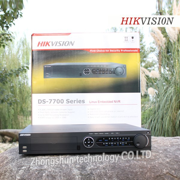 2015 new product cctv security system cctv camera CCTV NVR DS-7716NI-E4/16P