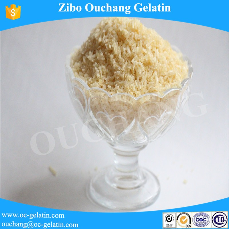 Best Price/Top sale delicious food 150 bloom Food Gelatin Sweeteners for marmalade
