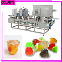 High Quality Cup Sealing Machine/jelly Filling Machine/cup Filling Sealing Machine