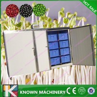 growing soya sprouts/bean sprout maker/seeds planting machine