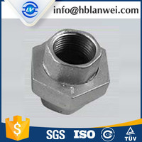 $100 free discount coupon! DIN thread union Malleable Iron Pipe Fittings