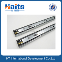 HT-01.031 35mm soft close kitchen drawer slides push to opne drawer tracks