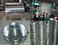 Professional zinc iron bucket,cast iron buckets