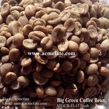 Natural and Bulk Packaging Raw Green Coffee Beans Popular Products