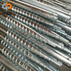 factory hot dipped galvanized fence post earth ground screw concrete pole anchor