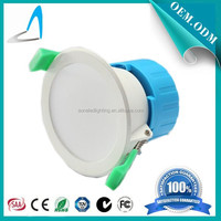 SAA IC-F approved SMD2835 Dimmable 7W LED Downlight Plastic built-in led driver led ceiling light with Australia Plug