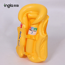 Hot Summer High Quality Beach Toys Kids Fishing Inflatable Swim Vest