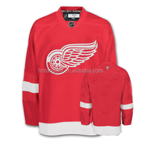 Embroidered NHL Children Ice Hockey Jersey Detroit Red Wings