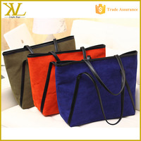 Wholesale Canvas Tote Bag With Outside Pockets, Custom Printed Standard Size Tote Bag Canvas
