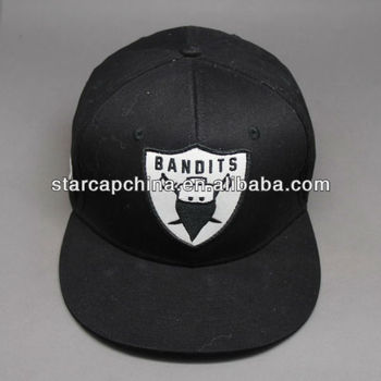 CUSTOM EMBROIDERY BASEBALL SNAPBACK CAP WITH APPLIQUE EMBROIDERY