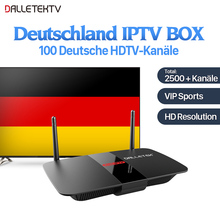 R1 Set Top Box Digital TV Cable Receiver Media Player Android TV Box International with IUDTV IPTV Code 1 Year