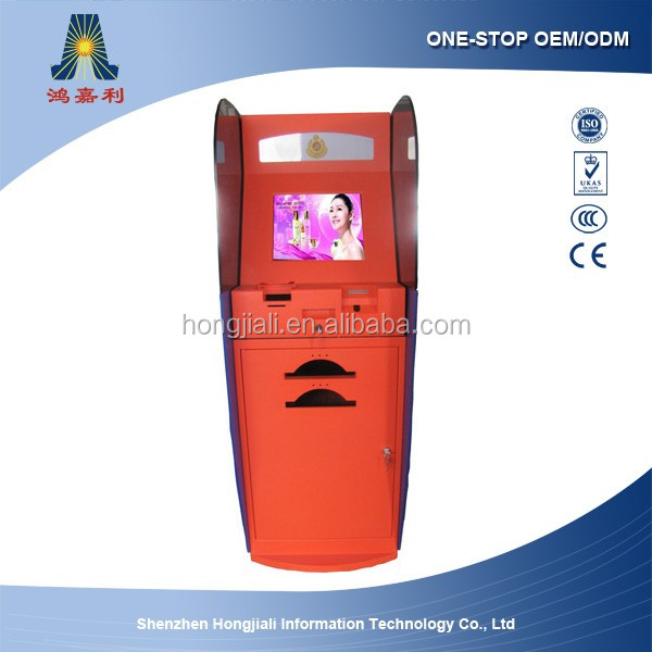 Billing machine for supermarket and restaurant with touch screen