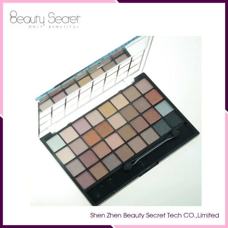 Professional Cosmetics Products Waterproof romantic color eye shadow