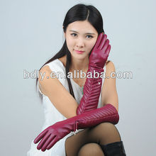 opera length long leather dress gloves for women