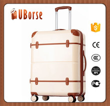 UBORSE 3 piece valise travelling trolley luggage bags set