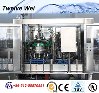Reliable 2 in 1 gas drink bottling machine/plant/complete line in China