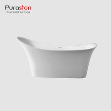 Puraston Hot selling marble artificial stone bathtub for quality projects