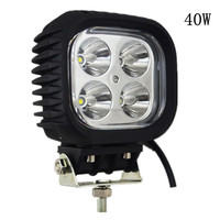40W 3000LM Waterproof LED Work Light Flush Mount Car Accessories Driving Lamp For Indicators 4x4 SUV Car Truck ATV UTV