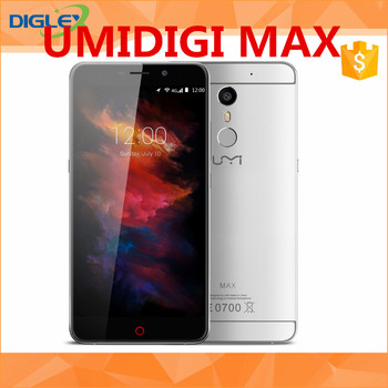WHOLESALE !!! UMIDIGI MAX 5.5inch FHD 4G LTE 4000mAh Android 6.0 Smartphone Helio P10 Octa Core 3GB 16GB 13.0MP Touch ID