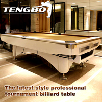 The latest style professional tournament fancy billiards pool table