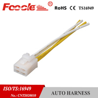 4Pin female connector auto wiring harness